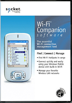 Socket WiFi Companion Software Handheld Computers