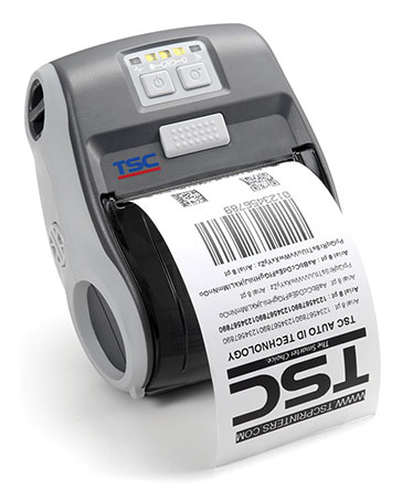 TSC Alpha-3R Portable Label Printer