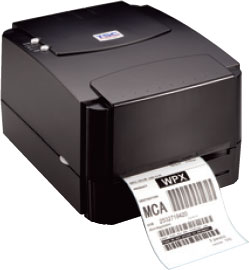 TSC TTP-244 Plus Thermal Barcode Label Printer