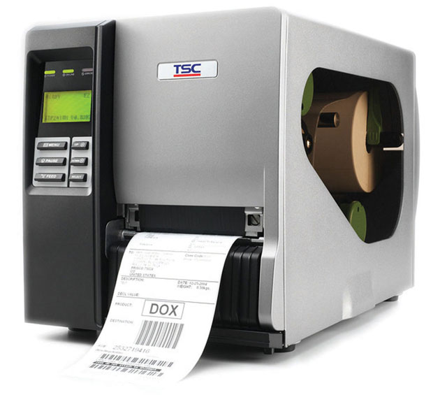 TSC TTP-246M Plus Thermal Barcode Label Printer