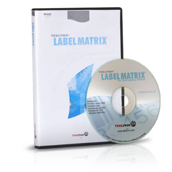 Teklynx LABELMATRIX Barcode Label Software