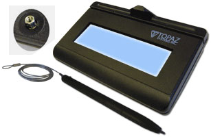 Topaz KioskGem LCD 1x5 Signature Pads
