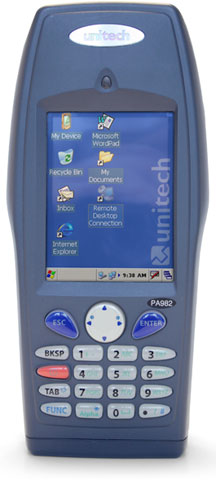Unitech PA982 Handheld Computers