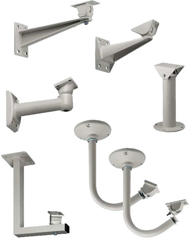 Videotec Mounting Brackets Security Camera Mounts