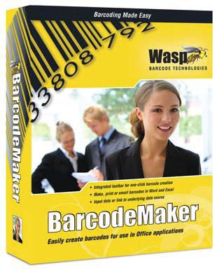 Wasp BarcodeMaker Barcode Label Software