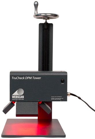 Webscan TruCheck DPM Tower Barcode Verifiers