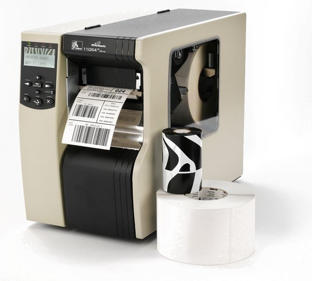 Zebra 110Xi4 Thermal Barcode Label Printer