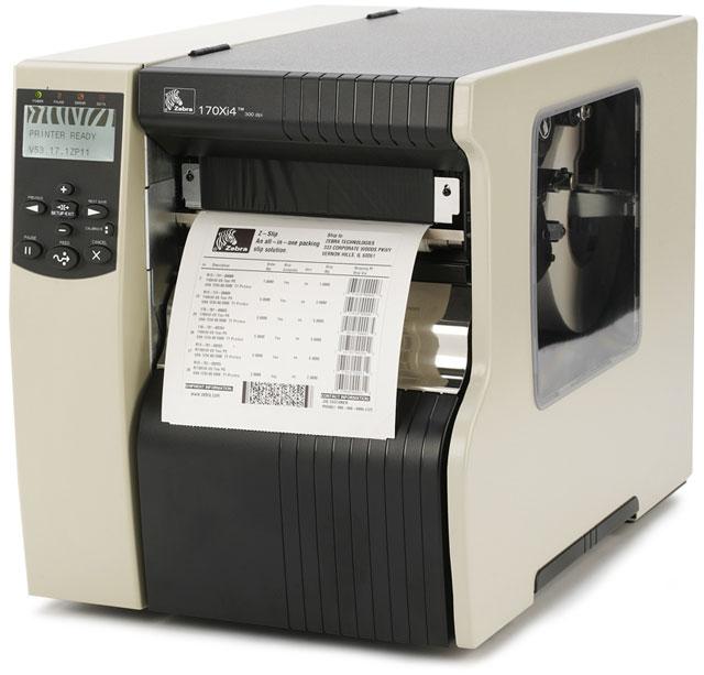 Zebra 170Xi4 Thermal Barcode Label Printer