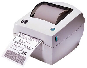 Zebra LP 2844 Thermal Barcode Label Printer