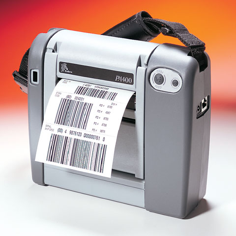 Zebra PA403 Portable Label Printer
