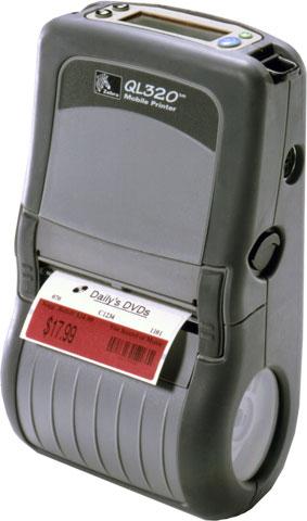 Zebra QL320 Portable Label Printer