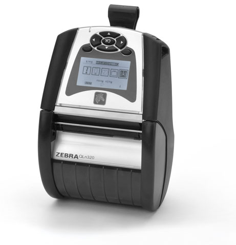 Zebra QLn320 Portable Label Printer, QLn 320 - Barcode Discount