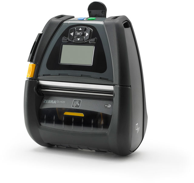 Zebra QLn420 Portable Label Printer, QLn 420 - Barcode Discount