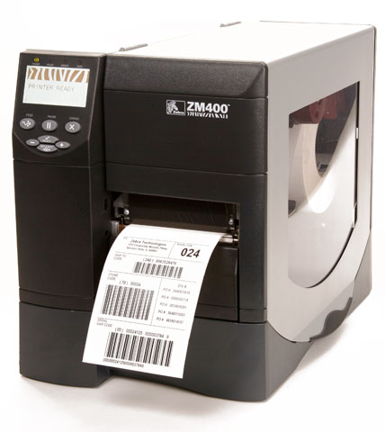 Zebra ZM400 Thermal Barcode Label Printer - Barcode Discount