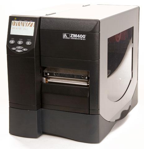 Zebra ZM400 Thermal Barcode Label Printer - Barcode Discount