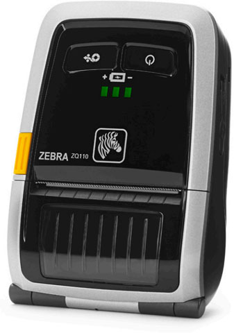 Zebra ZQ110 Portable Label Printer