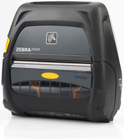 Zebra ZQ520 Portable Label Printer - Barcode Discount
