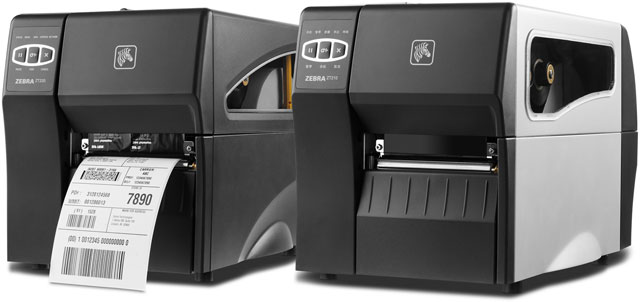 Zebra ZT200 Series Thermal Barcode Label Printer