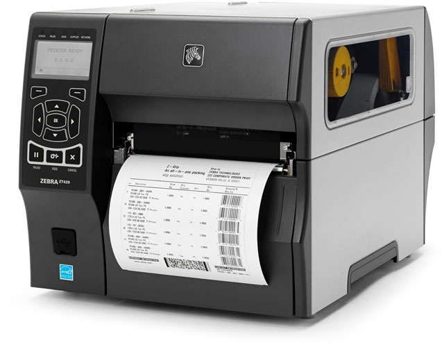 Zebra ZT420 Thermal Barcode Label Printer