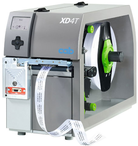 cab XD4T Thermal Barcode Label Printer