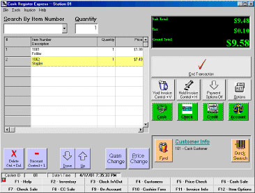 pcAmerica Cash Register Express Point of Sale Software