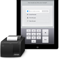 Photo of Apple iPad Compatible Receipt Printers