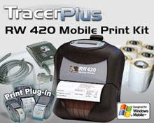 Photo of BCI ZEB-RW420-TP-WM Mobile Label/Receipt Printing Kit