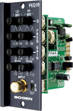 Photo of Bogen PEQ1R Parametric Equalizer