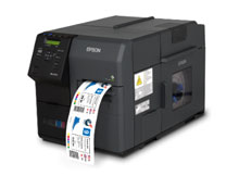Photo of Epson C7500G Inkjet Label Printer