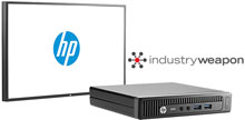 Photo of HP Digital Signage Systems