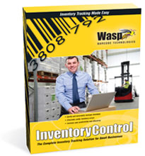 Photo of Wasp Inventory Control Software