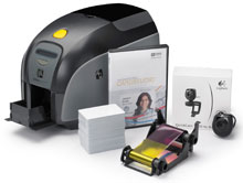 Photo of Zebra ZXP Series 1 ID Card Printer System